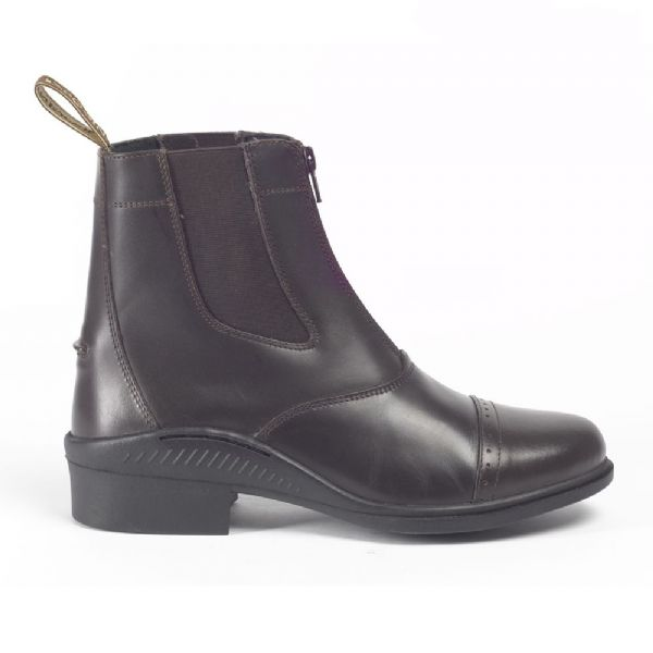 Brogini Tivoli Leather Zip Jodhpur Boots - Adults